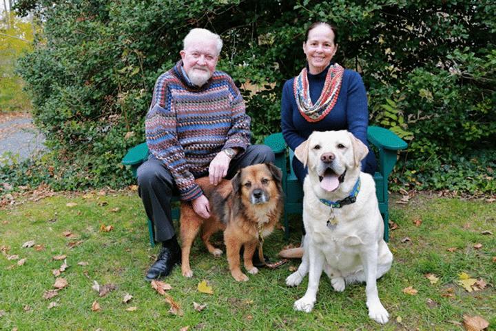 Brian and Gloria Davies