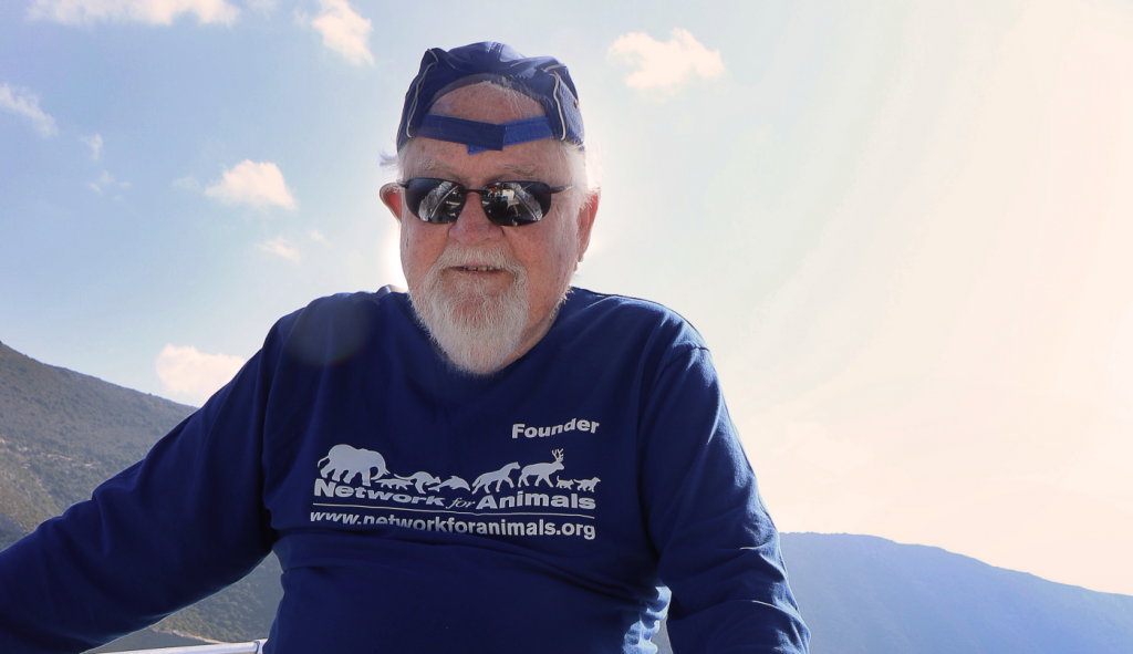 NFA's 82-Year Old Founder Risks It All At Sea To Take Help To Hungry Cats On A Greek Island 10