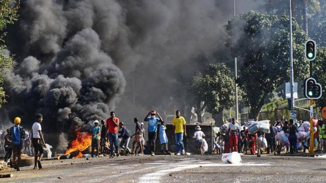 PANDEMONIUM! Civil unrest and looting. FOOD SET ON FIRE! Dogs and cats face STARVATION! 1
