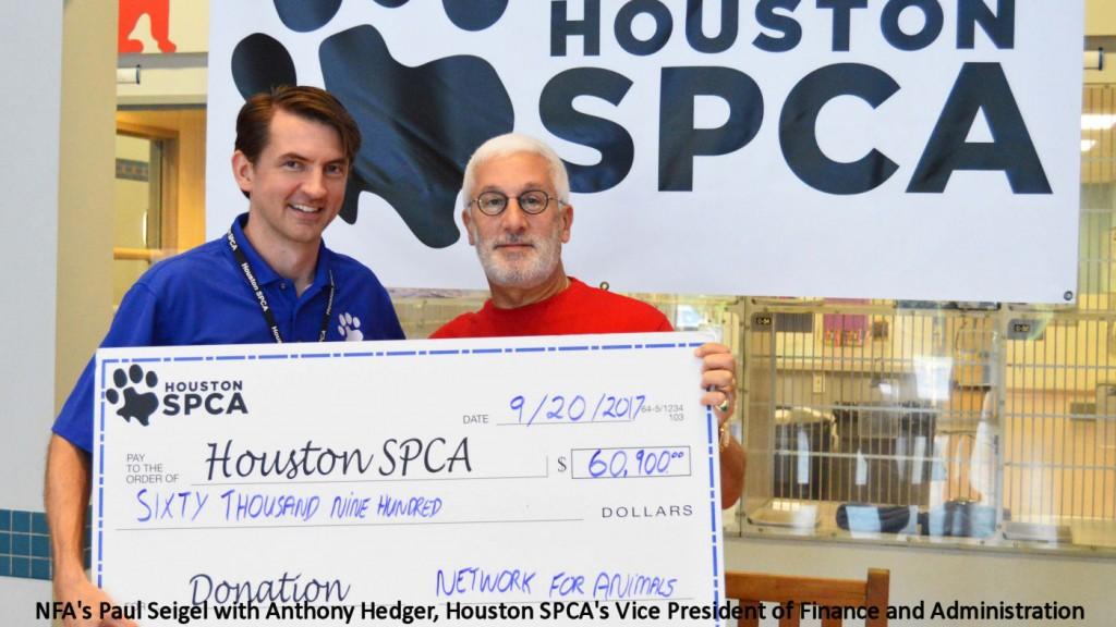 NFA's $60 000 Helped Save 600 Animal Hurricane Victims 9