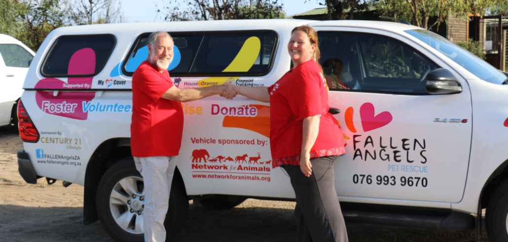 NFA supporters buy new vehicle for animal rescue organization 4